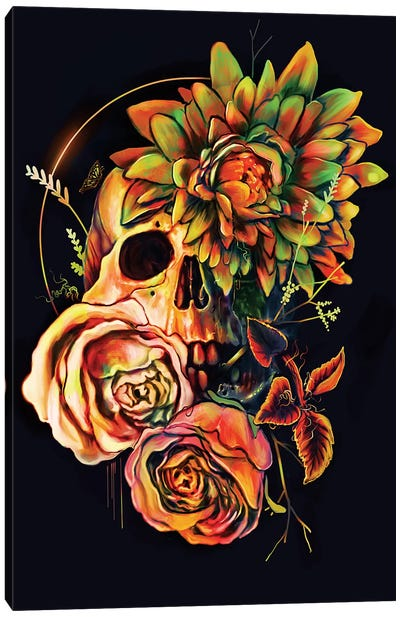 Life And Death II Canvas Art Print