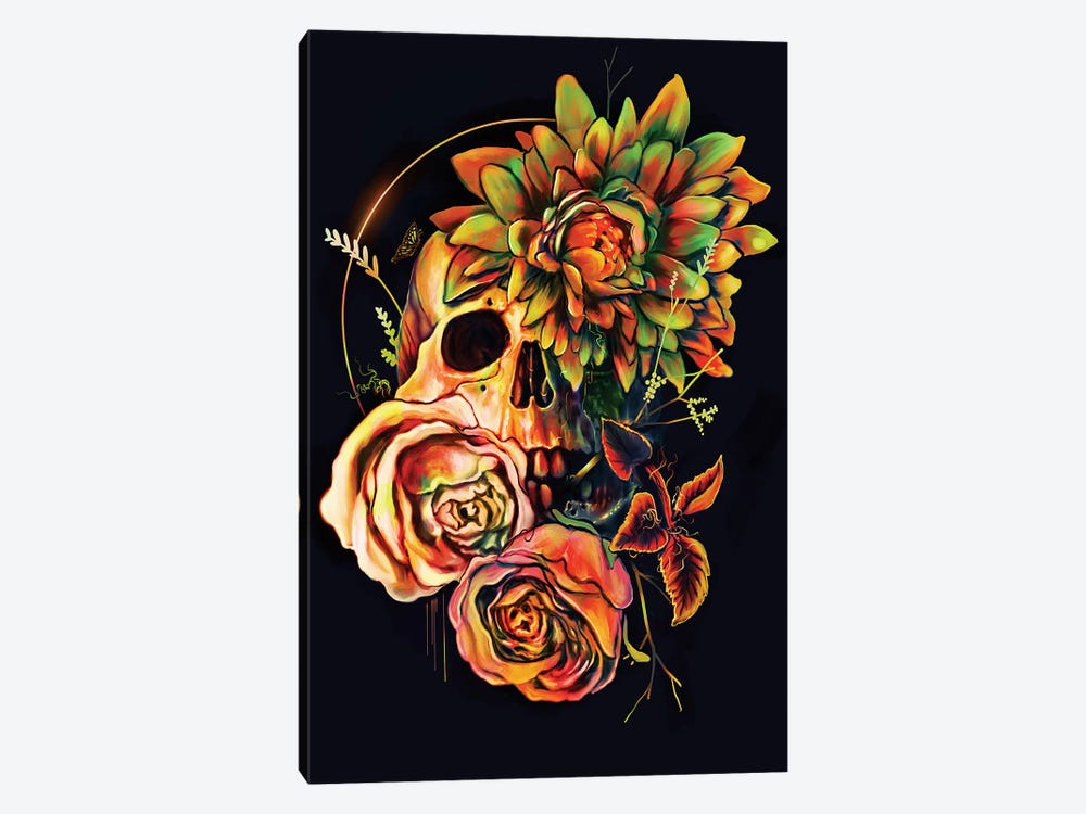 Life And Death II 1-piece Canvas Print