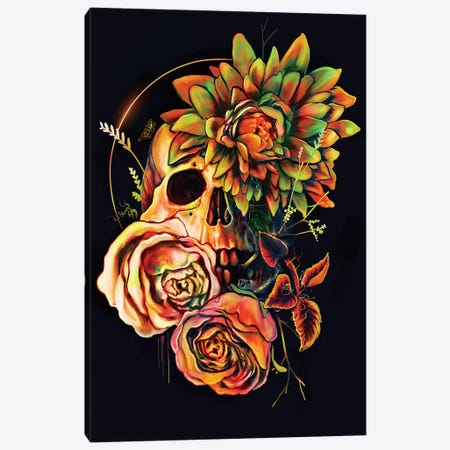 Life And Death II Canvas Print #NID273} by Nicebleed Canvas Wall Art