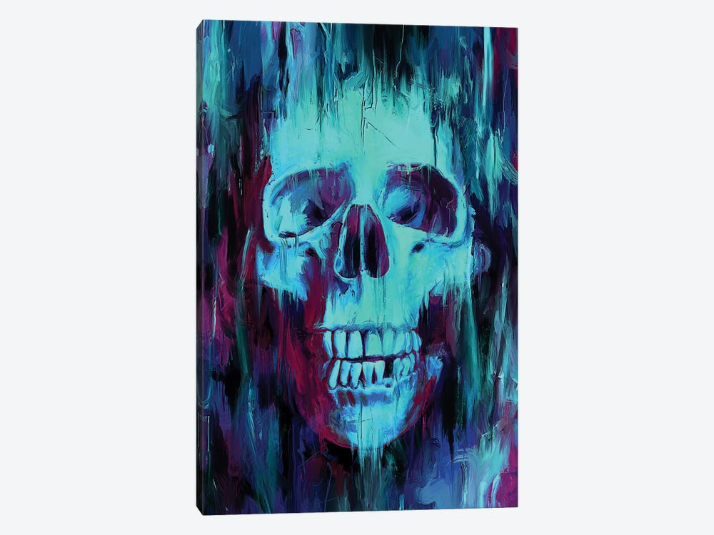 Skull Paint by Nicebleed 1-piece Canvas Print