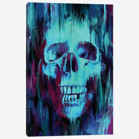 Skull Paint Canvas Print #NID279} by Nicebleed Canvas Art