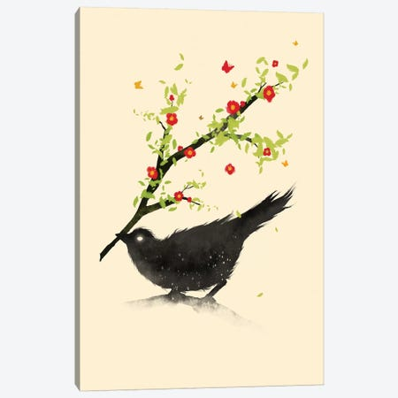 Spring Is Coming Canvas Print #NID281} by Nicebleed Canvas Print