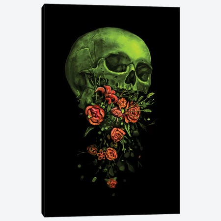 Vomit Canvas Print #NID285} by Nicebleed Canvas Artwork
