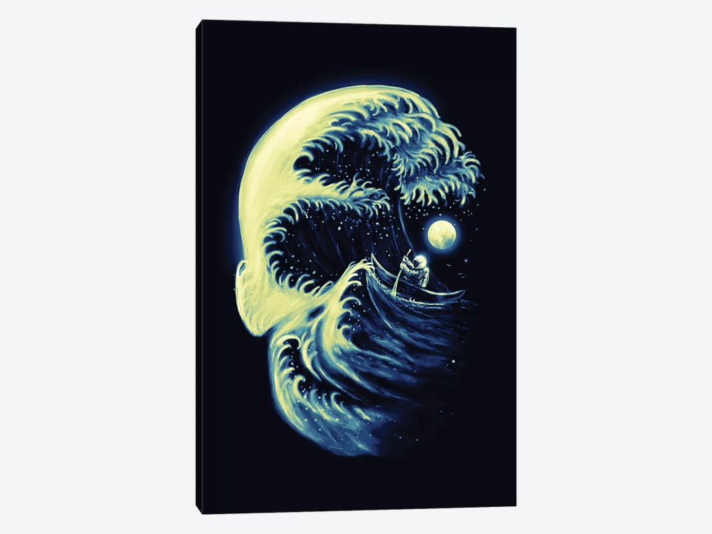 Death Wave by Nicebleed 1-piece Canvas Print