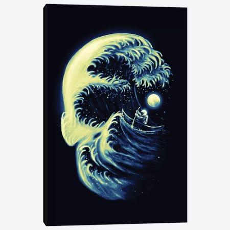 Death Wave Canvas Print #NID288} by Nicebleed Canvas Print