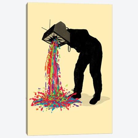 Pixel Vomit Canvas Print #NID291} by Nicebleed Canvas Artwork