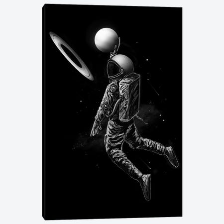 Saturn Dunk Canvas Print #NID292} by Nicebleed Canvas Artwork