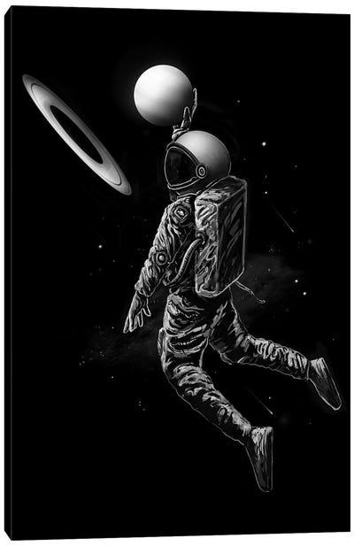 Saturn Dunk Canvas Art Print