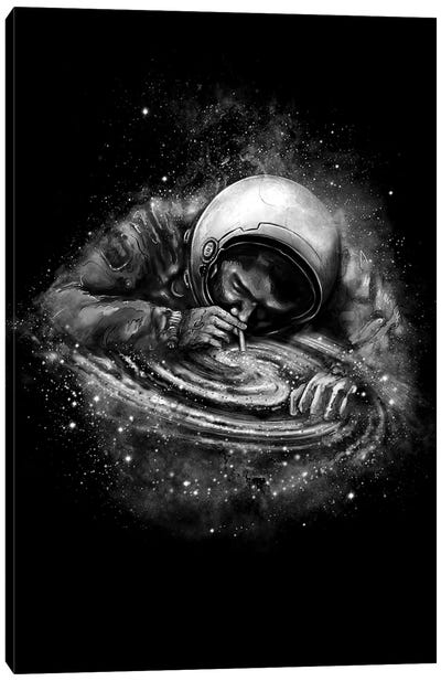 Space Junkie Canvas Art Print