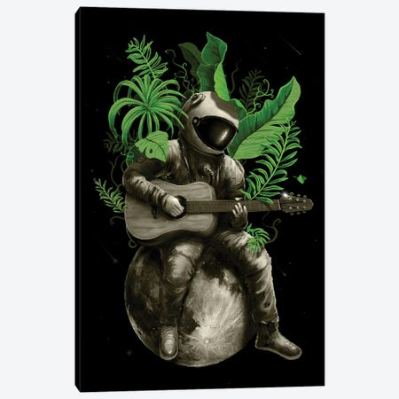 Astropical Strum Canvas Print #NID297} by Nicebleed Art Print