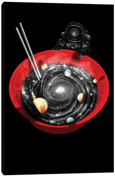 Cosmic Ramen II Canvas Art Print