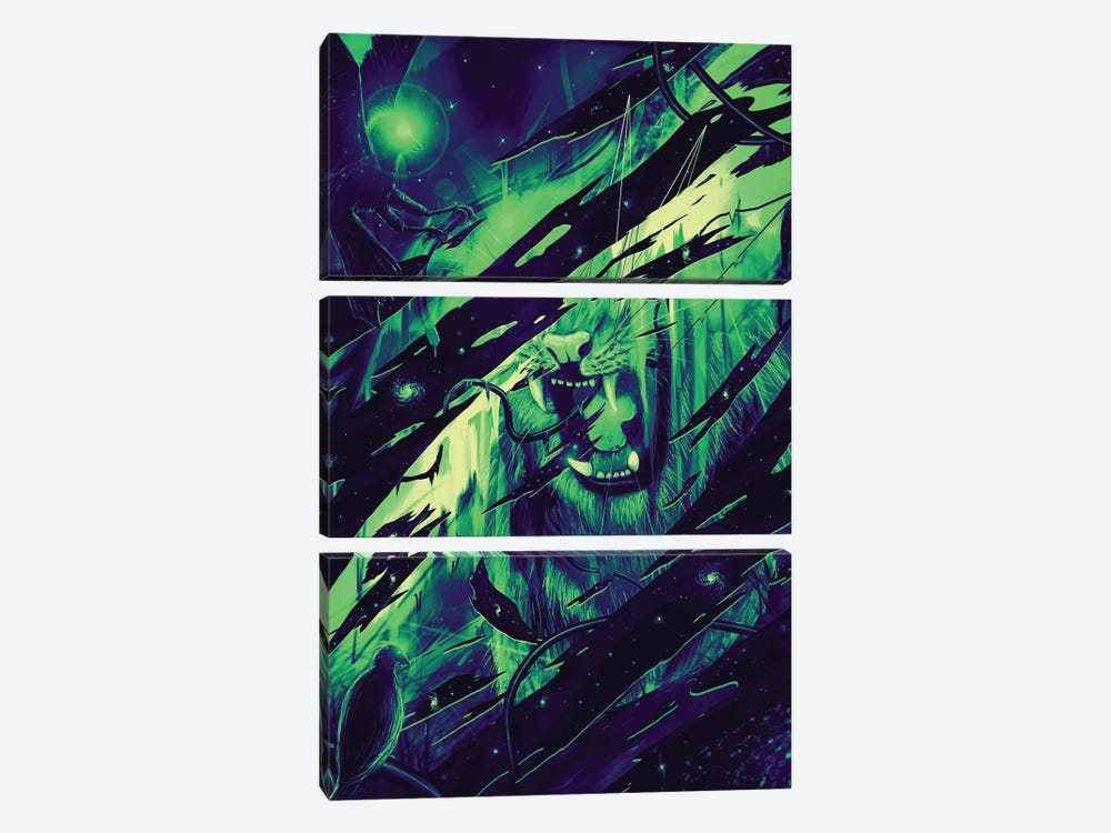 Guardian by Nicebleed 3-piece Canvas Wall Art