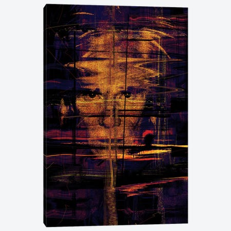 Andy Warhol Canvas Print #NID2} by Nicebleed Canvas Print
