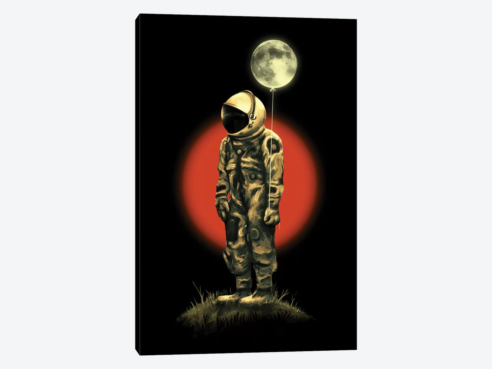 Fly Me To The Moon by Nicebleed 1-piece Canvas Art