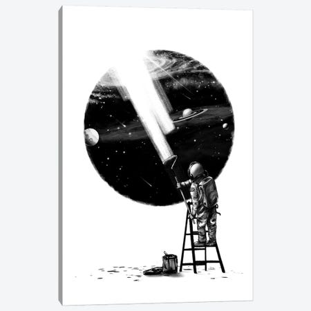 I Need More Space I Canvas Print #NID301} by Nicebleed Canvas Artwork