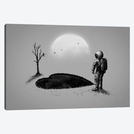 Love Hole Canvas Print #NID303} by Nicebleed Canvas Artwork