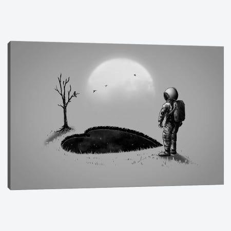 Love Hole Canvas Print #NID303} by Nicebleed Canvas Artwork