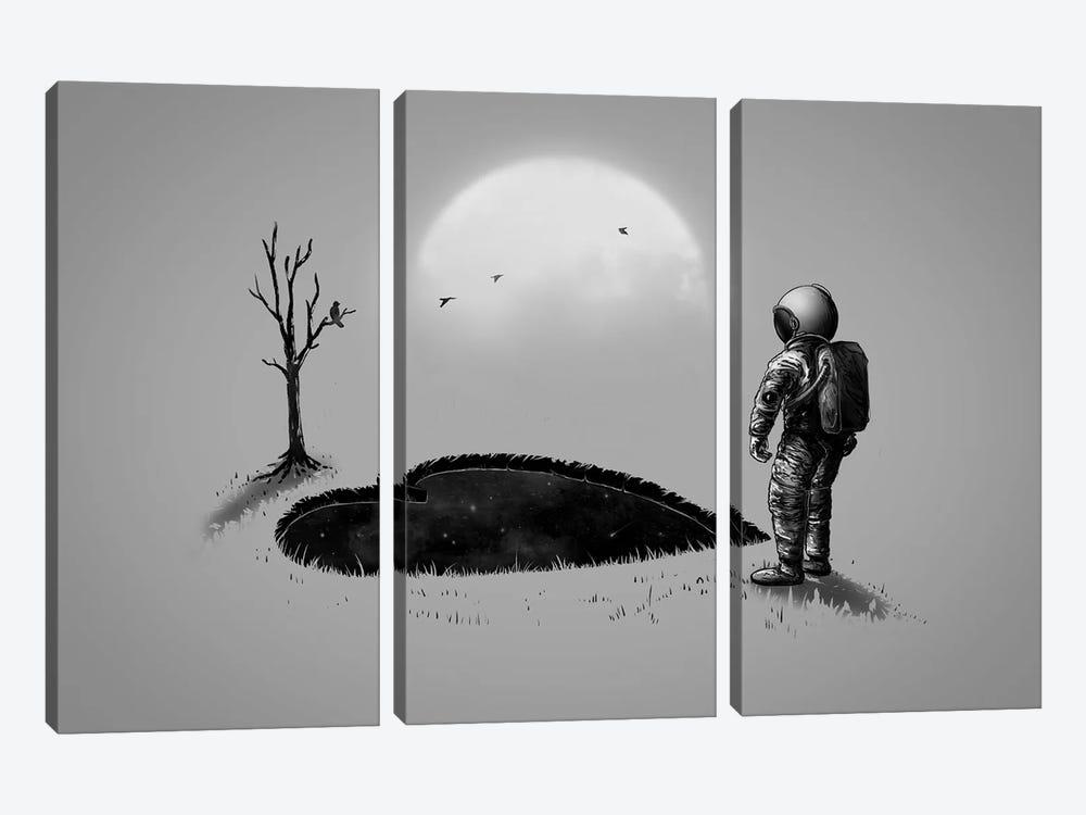 Love Hole by Nicebleed 3-piece Canvas Art Print