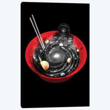 Space Ramen Bath Canvas Print #NID306} by Nicebleed Canvas Print