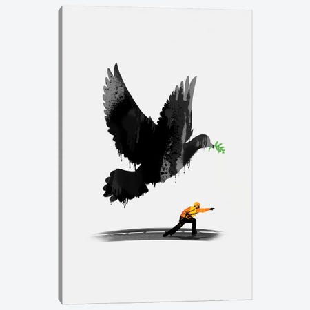 Take Off Canvas Print #NID308} by Nicebleed Canvas Wall Art
