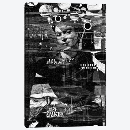 Frida Canvas Print #NID314} by Nicebleed Canvas Art