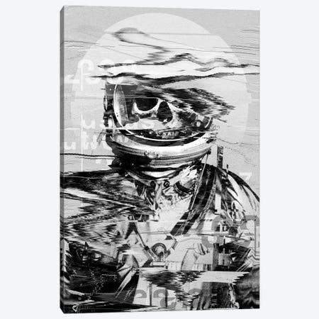 Astro Skull Canvas Print #NID318} by Nicebleed Canvas Art Print