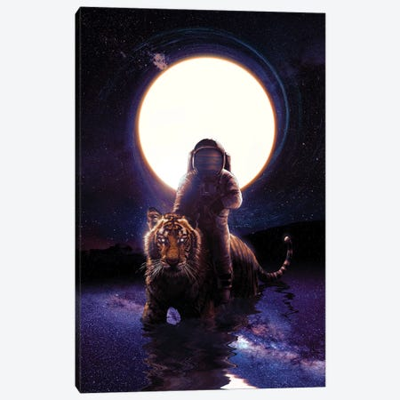 Hunter Canvas Print #NID321} by Nicebleed Canvas Artwork