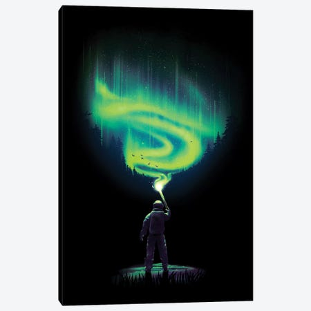 Illuminate Aurora Canvas Print #NID322} by Nicebleed Canvas Wall Art