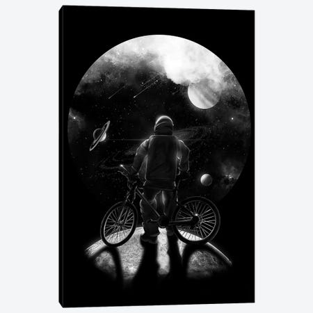 Commuter Canvas Print #NID325} by Nicebleed Art Print