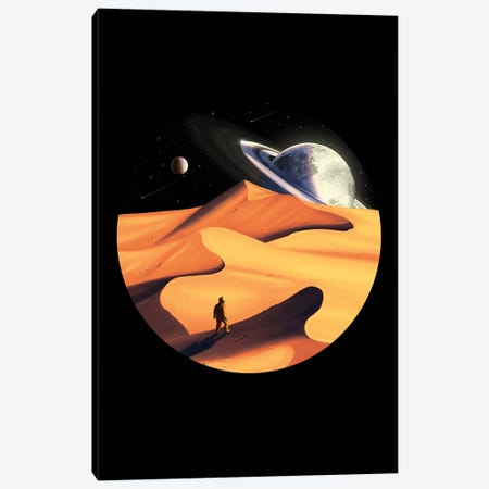 The Wanderer Canvas Print #NID327} by Nicebleed Canvas Art Print