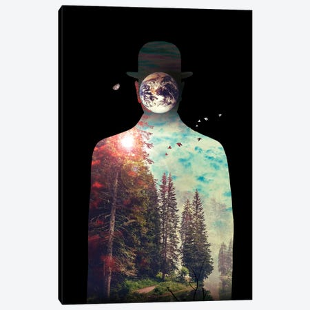 Intrinsic Elements Canvas Print #NID332} by Nicebleed Canvas Art Print