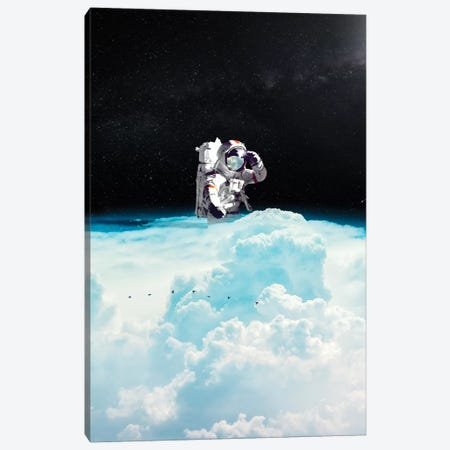 Seeking Canvas Print #NID334} by Nicebleed Canvas Art