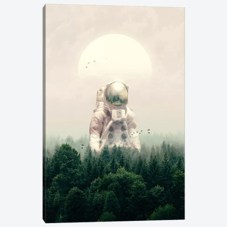 The Guest Canvas Print #NID336} by Nicebleed Canvas Artwork