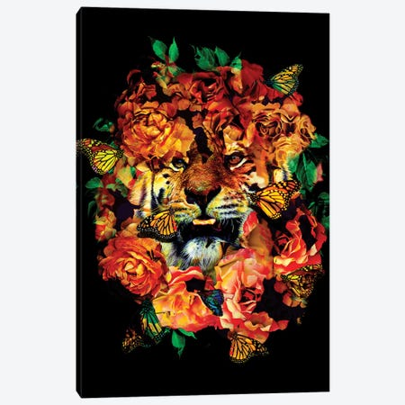 Wild Flowers Canvas Print #NID337} by Nicebleed Canvas Art