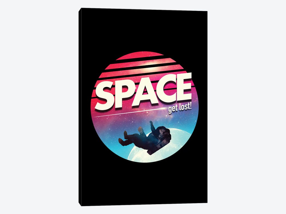 Get Lost In Space by Nicebleed 1-piece Canvas Print