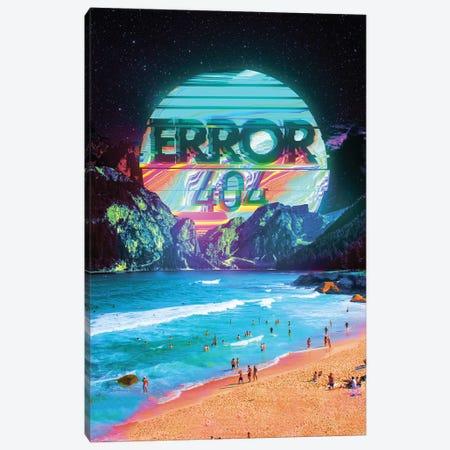 Error 404 Canvas Print #NID344} by Nicebleed Canvas Print