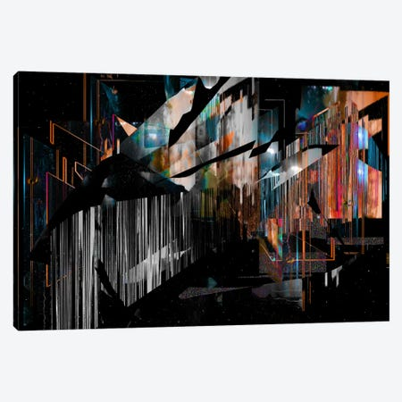 Inside Out Canvas Print #NID34} by Nicebleed Canvas Wall Art