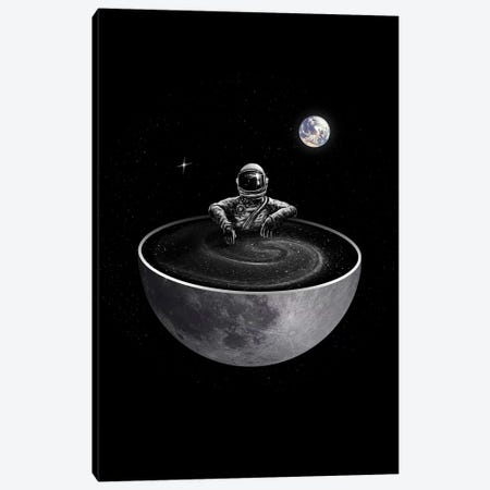 Easy - Moon Version Canvas Print #NID351} by Nicebleed Canvas Print