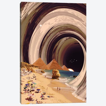 Tunnel Canvas Print #NID353} by Nicebleed Canvas Print