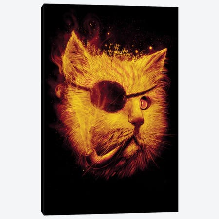 Irie Eye Canvas Print #NID35} by Nicebleed Canvas Wall Art