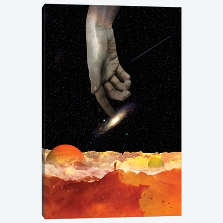 The Creation Canvas Print #NID362} by Nicebleed Canvas Wall Art