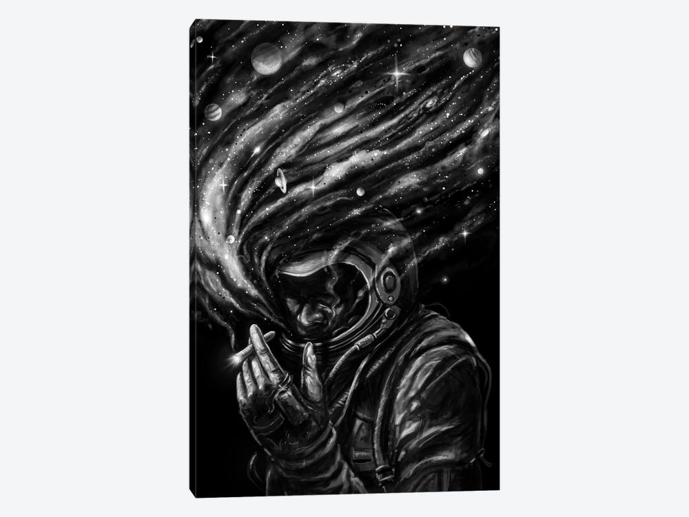 Space Joint by Nicebleed 1-piece Canvas Art Print