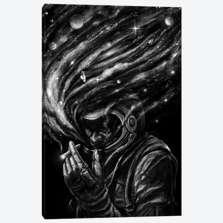 Space Joint Canvas Print #NID365} by Nicebleed Art Print