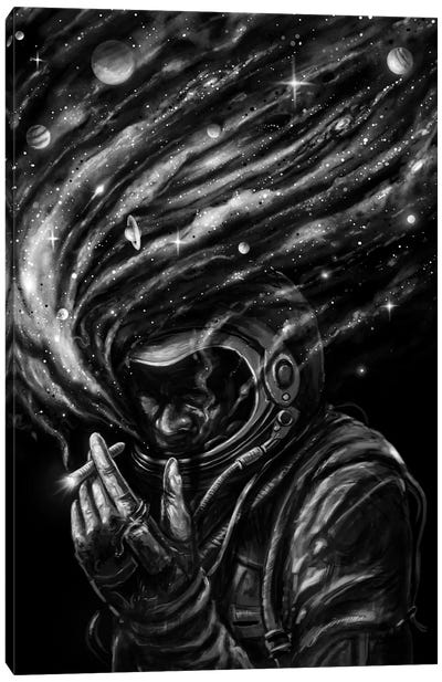 Space Joint Canvas Art Print