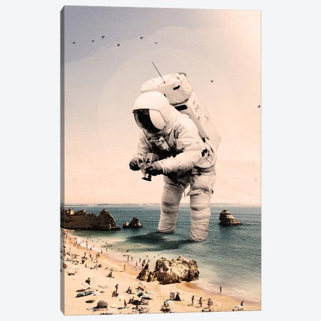 The Speculator I Canvas Print #NID367} by Nicebleed Canvas Art Print