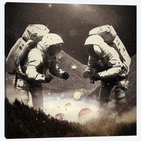 The Speculator III Canvas Print #NID369} by Nicebleed Canvas Artwork