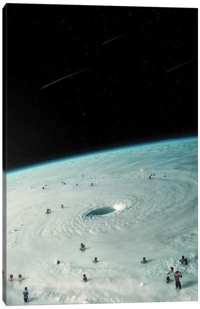 Hurricane Bath Canvas Art Print