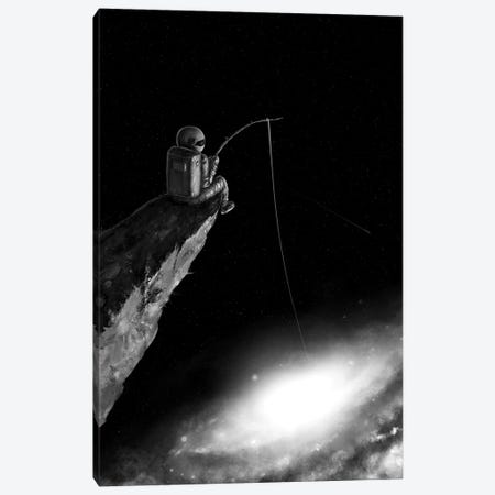 Star Fishing II Canvas Print #NID374} by Nicebleed Canvas Wall Art