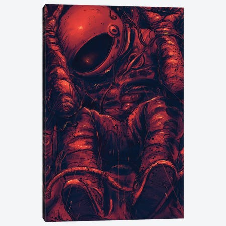 Trapped Canvas Print #NID375} by Nicebleed Canvas Artwork