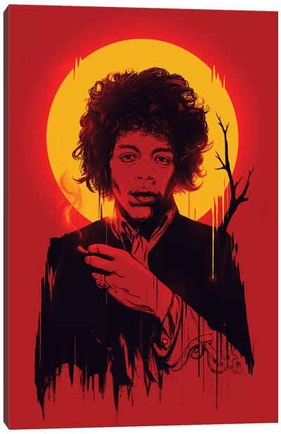 Jimi Hendrix Canvas Print #NID37